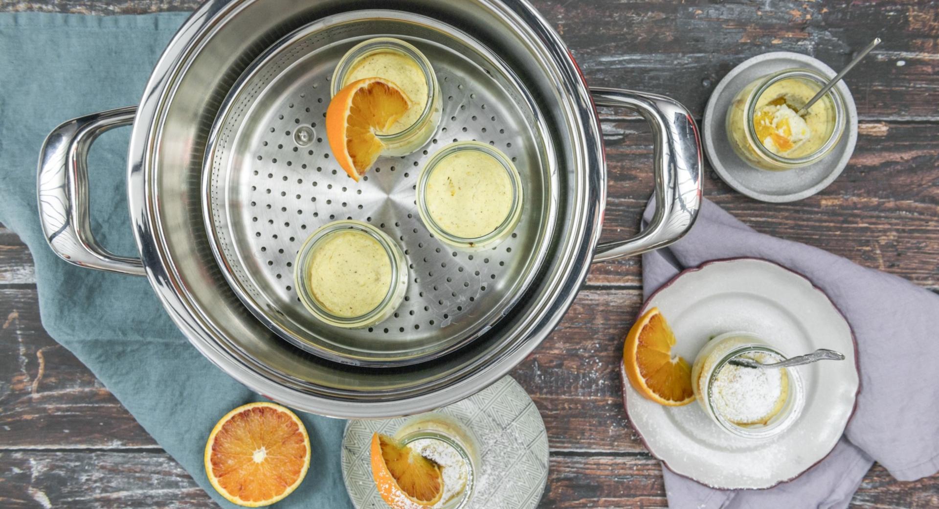 Orangen-Quarkküchlein
