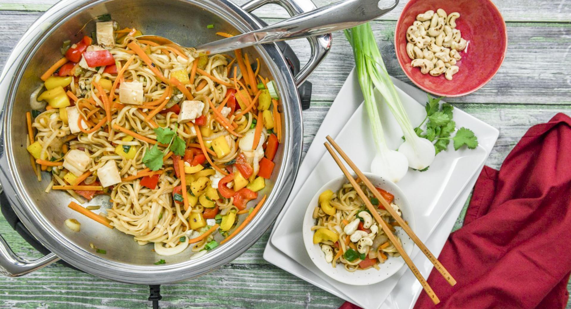 Asia-Gemüse mit Tofu