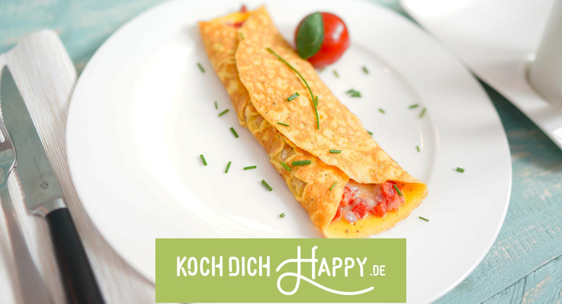 Leckeres Frühstücks Omelett