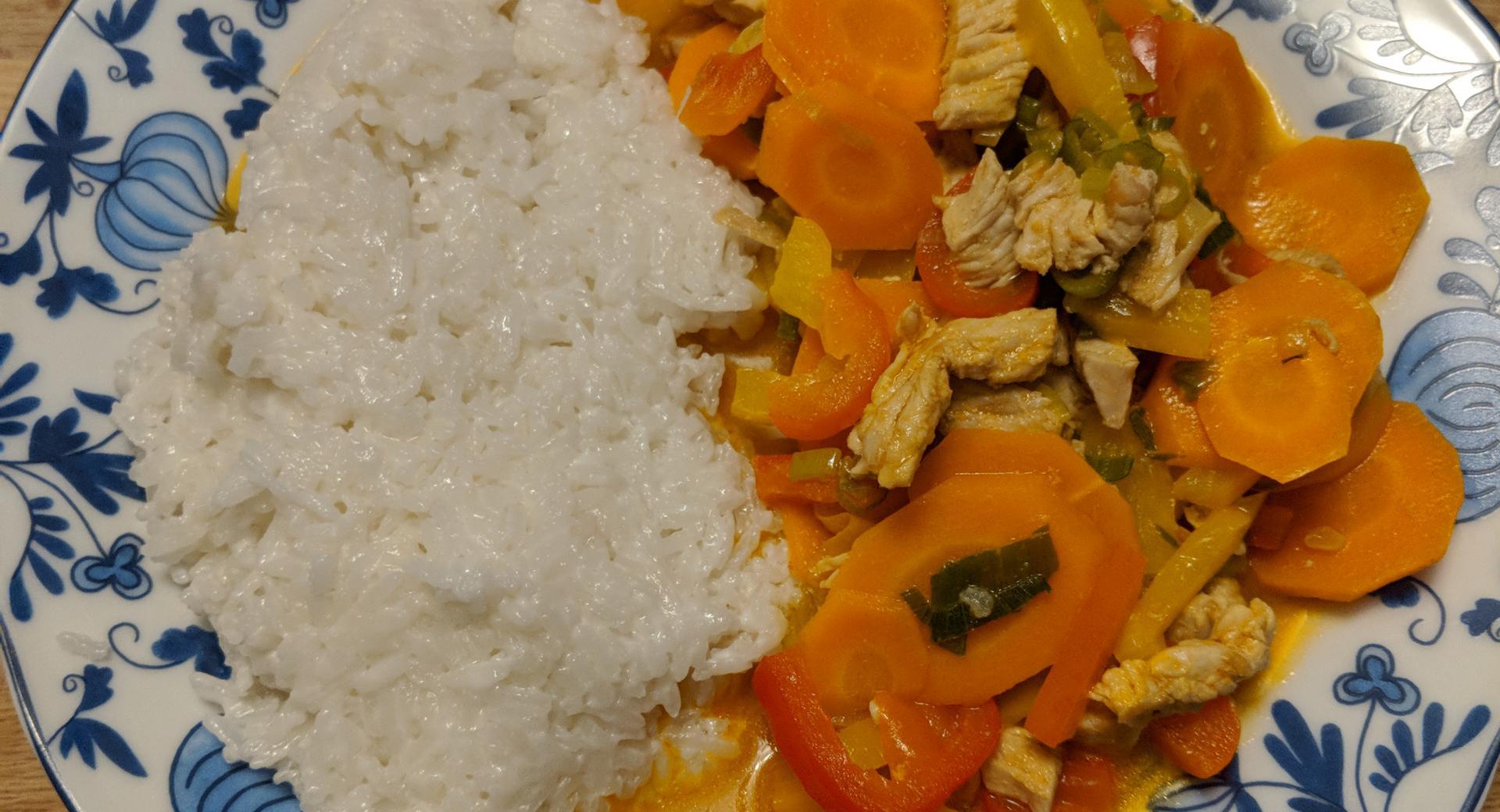 Rotes Curry....nach Thai Art