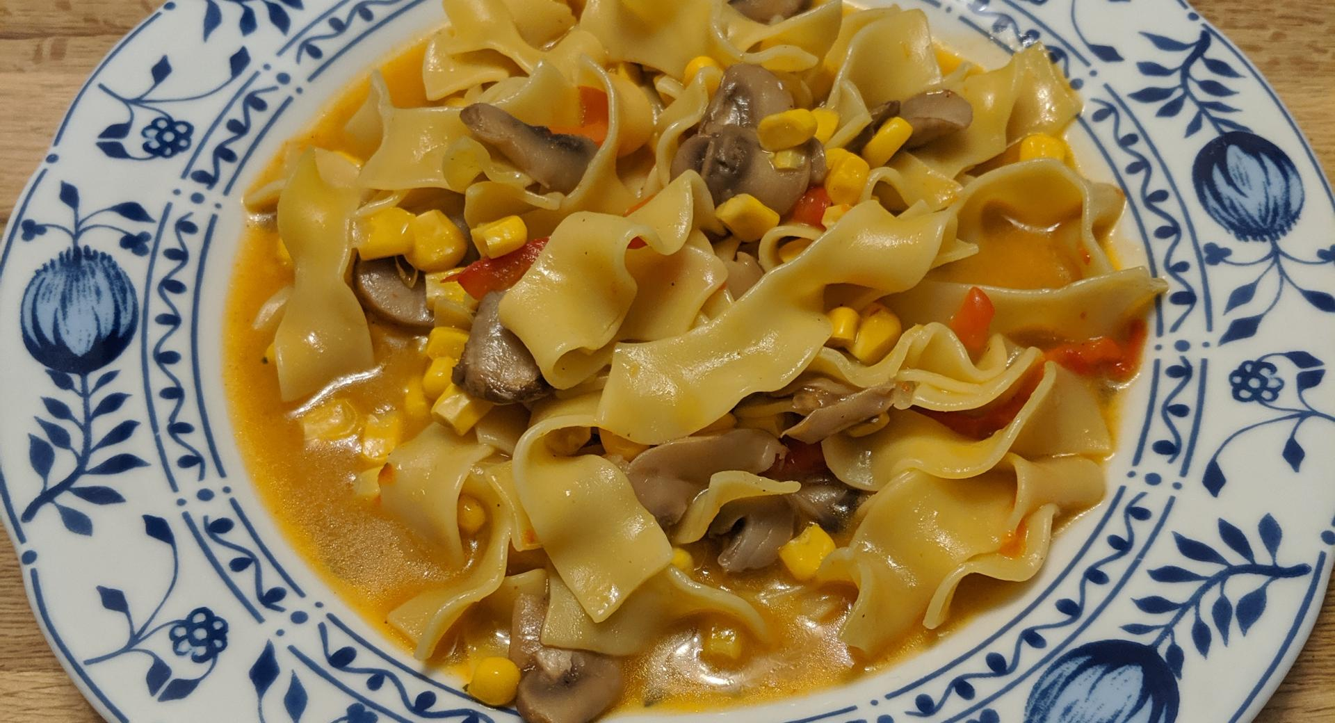 Curry-Pasta