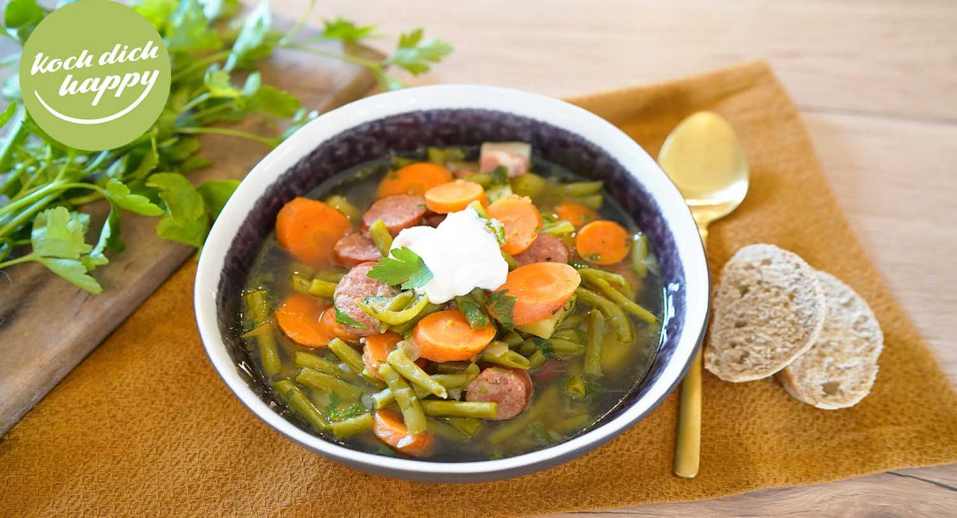 Bohnensuppe mit AMC