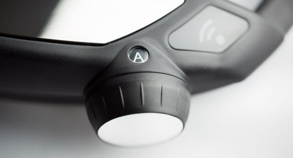 """Schalte den Navigenio auf Automatik """"A""""."""