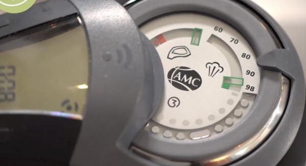 """Anschließend den Audiotherm zweimal auf das """"Dampfsymbol"""" drehen."""
