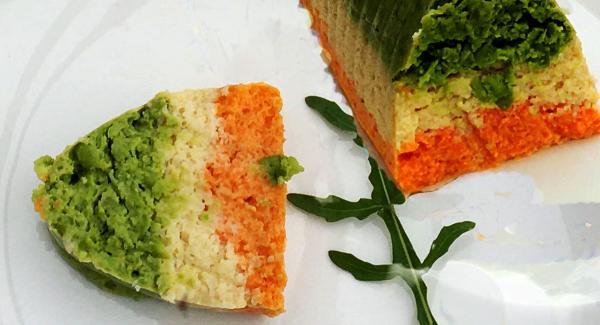 Gemüseterrine Tricolore