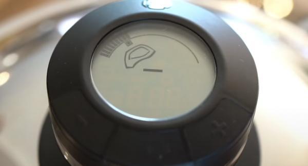 Sobald der Audiotherm ruft, den Navigeno auf Stufe 3 runterstellen.