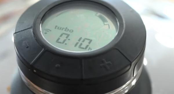 """Den Navigeno auf Stufe """"A"""" einstellen und den Audiotherm aufsetzen und auf """"Turbo"""" 10 Minuten einstellen."""