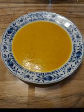 Fruchtige Kürbissuppe